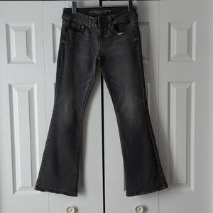"American Eagle Boho ""Artist"" flare Jeans sz. 6"